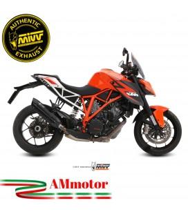 Mivv Ktm 1290 Superduke Terminale Di Scarico Moto Marmitta Suono Black Omologato