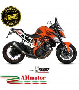 Mivv Ktm 1290 Superduke Terminale Di Scarico Moto Marmitta Delta Race Black Omologato