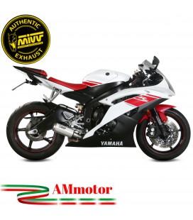 Mivv Yamaha Yzf 600 R6 06 - 2016 Terminale Di Scarico Moto Marmitta Mk3 Inox Omologato