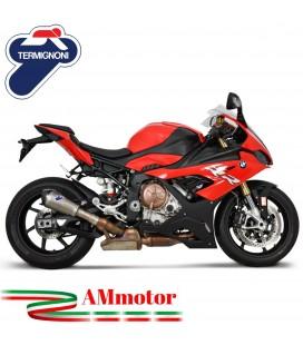 Termignoni Bmw S 1000 RR Terminale Di Scarico Moto Marmitta Relevance Titanio Racing