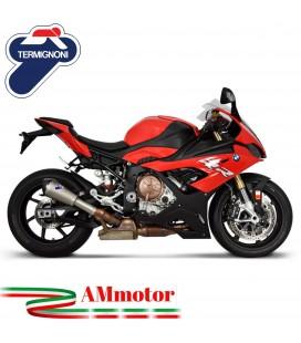 Termignoni Bmw S 1000 RR Terminale Di Scarico Moto Marmitta Conical Titanio Omologato