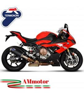Termignoni Bmw S 1000 RR Terminale Di Scarico Moto Marmitta Conical Titanio Black Omologato