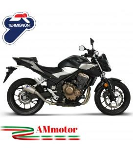 Termignoni Honda CB 500 F / R / X Terminale Di Scarico Moto Marmitta GP2R Inox