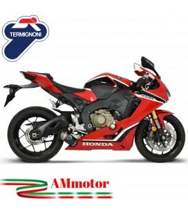 Termignoni Honda Cbr 1000 RR 17 - 2019 Terminale Di Scarico Moto Marmitta Gp Carbonio
