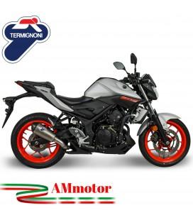 Termignoni Yamaha MT-03 Terminale Di Scarico Moto Marmitta Relevance Titanio