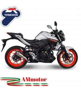Termignoni Yamaha MT-03 Terminale Di Scarico Moto Marmitta GP2R-RHT Titanio