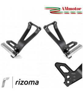 Pedane Passeggero Yamaha MT10 Rizoma Regolabili Poggiapiedi