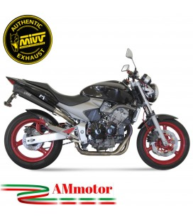 Mivv Honda Hornet 600 Terminale Di Scarico Moto Marmitta X-Cone Black