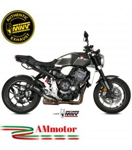 Mivv Honda Cb 1000 R Terminale Di Scarico Moto Marmitta Mk3 Carbonio Omologato
