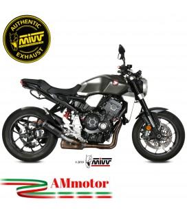 Mivv Honda Cb 1000 R Terminale Di Scarico Moto Marmitta Mk3 Black Omologato