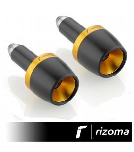 Terminali Manubrio Moto Rizoma Conico Contrappesi Bilancieri Oro