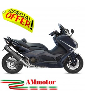 Scarico Completo Yamaha T-Max 530 Terminale Stronger Black Moto Scooter