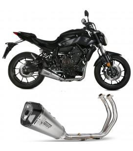 Scarico Completo Mivv Yamaha Mt-07 Terminale Delta Race Inox Moto
