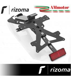Portatarga Rizoma Kawasaki Z 650 Moto Supporto Completo Luce Led Catarifrangente