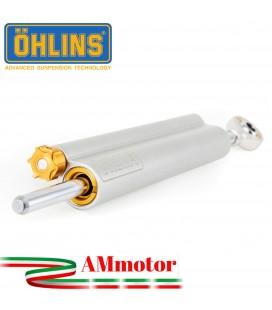 Ammortizzatore Di Sterzo Ohlins Ducati 848 Evo / Evo Corse Moto Lineare Regolabile Completo Kit Attacchi