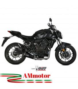 Scarico Completo Mivv Yamaha Mt-07 Terminale Delta Race Black Moto
