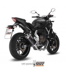 Scarico Completo Mivv Yamaha Mt-07 Terminale Gp Carbonio Moto Alto