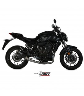 Scarico Completo Mivv Yamaha Mt-07 Terminale Gp Pro Carbonio Moto Alto