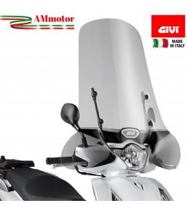 Parabrezza Honda Sh 125 12 2016 GIVI Trasparente Paravento Scooter