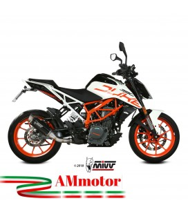 Mivv Ktm 390 Duke Terminale Di Scarico Marmitta Gp Pro Black Moto Omologato