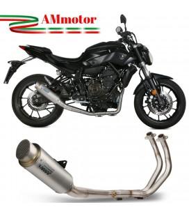 Scarico Completo Mivv Yamaha Mt-07 Terminale Gp Pro Titanio Moto Alto