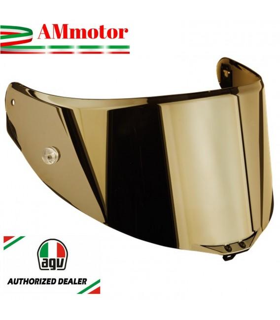 Visiera Agv Corsa R Race 3 Iridium Gold Specchio Oro Casco Integrale Moto