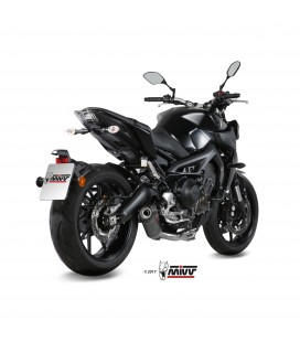 Scarico Completo Mivv Yamaha Mt-09 Terminale Oval Carbon Cap Moto