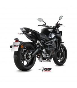 Scarico Completo Mivv Yamaha Mt-09 Terminale Suono Inox Moto