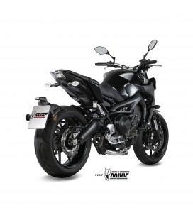 Scarico Completo Mivv Yamaha Mt-09 Terminale Suono Black Moto