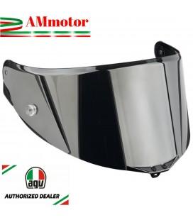 Visiera Agv Pista GP R Race 3 Iridium Silver Specchio Argento Casco Integrale Moto
