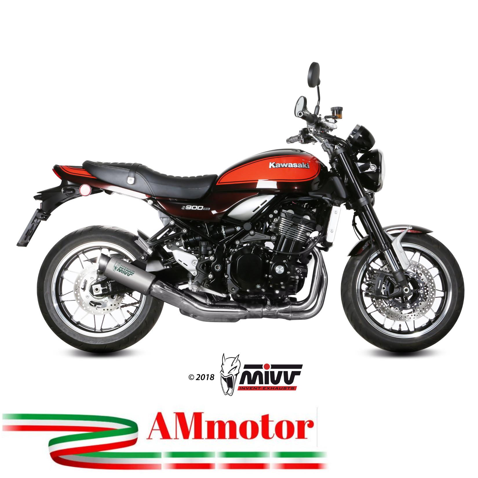 Details about Mivv Kawasaki Z 900 Rs 2018 18 Exhaust Gp Pro Titanium  Motorcycle