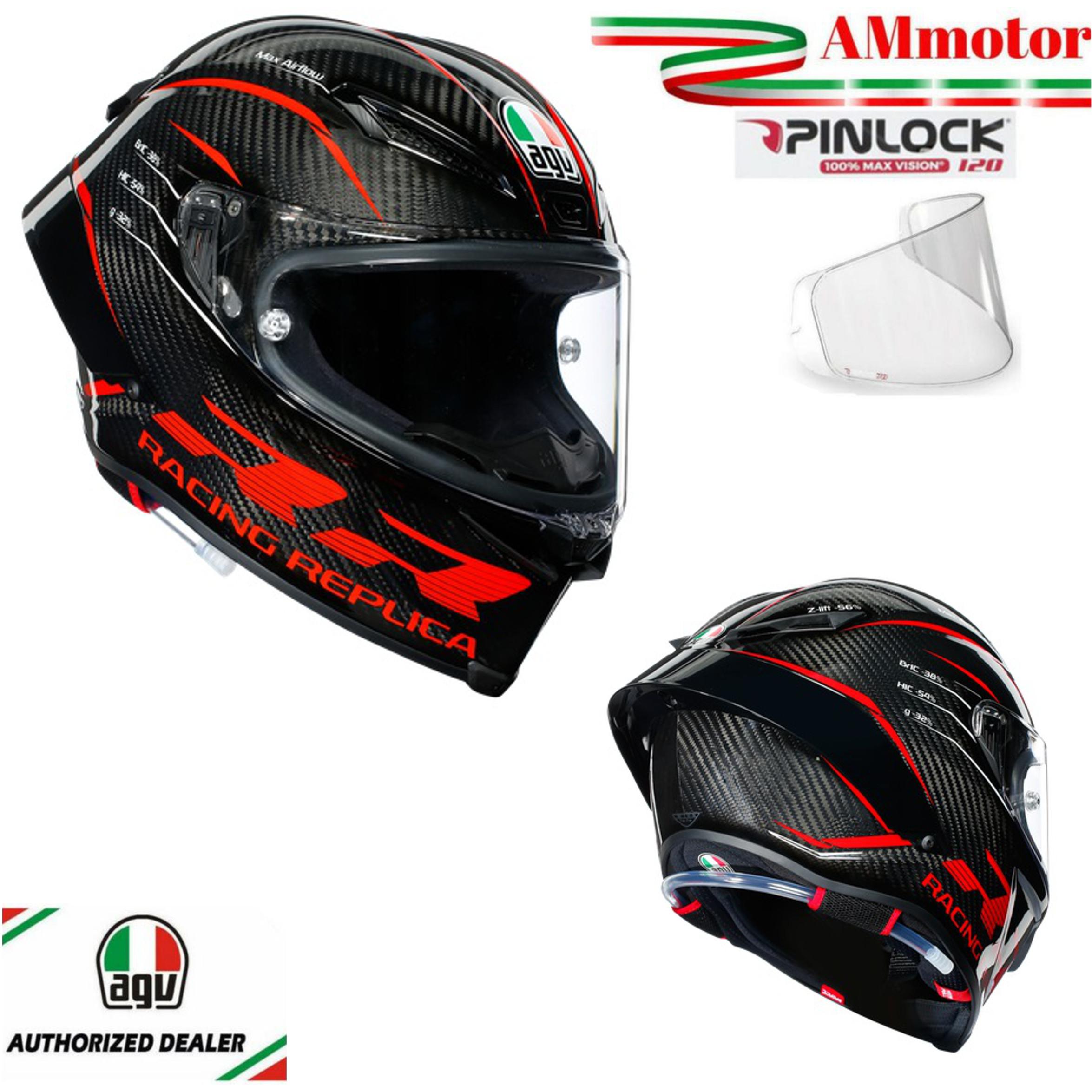AGV Pista GP RR Performance Integral Carrera Casco De Moto