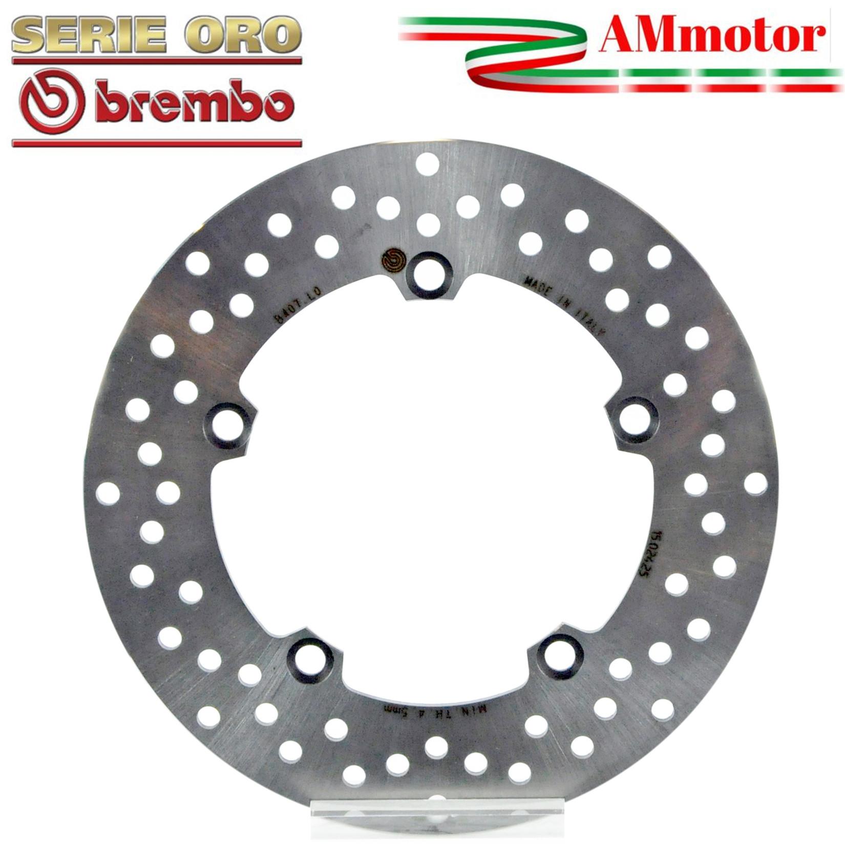 68B40791 Disco Freno Fisso Brembo Serie Oro Posteriore 750 Sport 750 2001  2002
